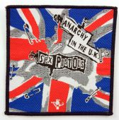 Sex Pistols - 'Anarchy in the UK' Woven Patch